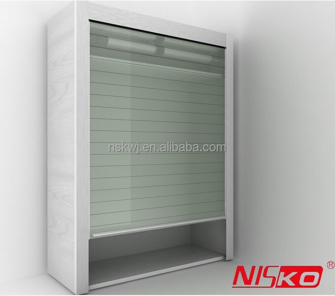 Aluminium Roller Shutter For Kitchen And Office Cabinets