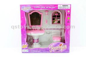 Plastic Toilets Toy For Dolls QS120525014
