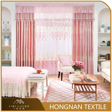 Top quality fashion beautiful woven european curtain and drapes