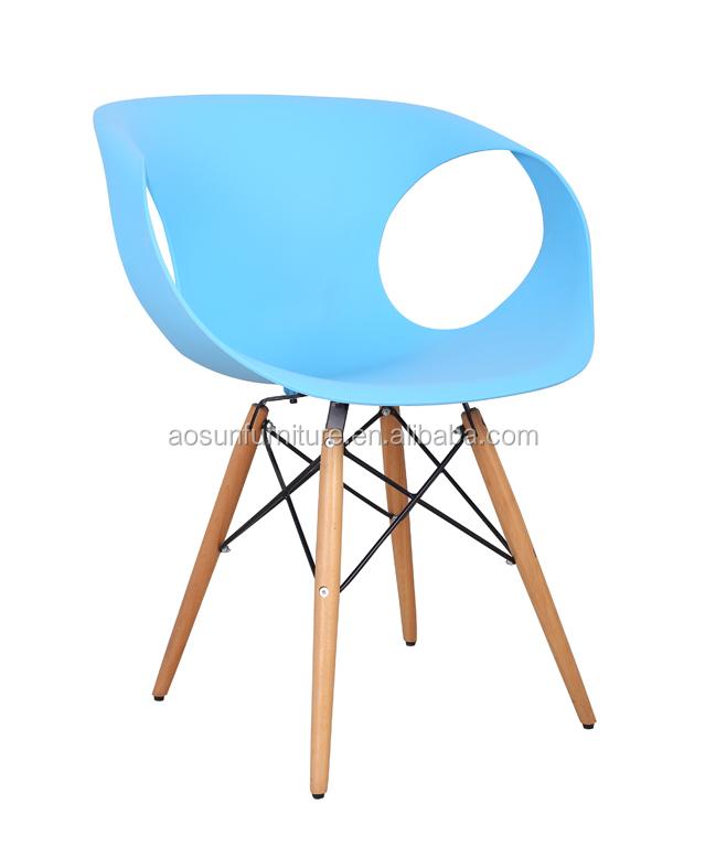 Pp leisure stoel met houten benen s 504 mt buy product on - Houten plastic stoel ...