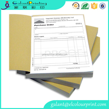 carbonless NCR paper books in A4,A5,DL and A6 size top copy perforated
