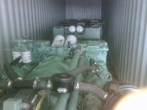 4 X MTU marine engines 16V2000