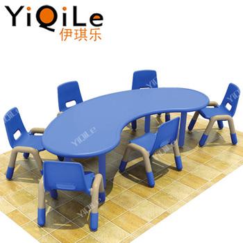 Guardería Niños Muebles Mesa De Estudio De Plástico - Buy Product on ...