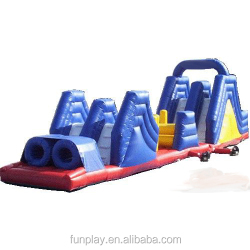HI Funny game 0.55mm PVC kids/adult inflatable obstacle course,inflatable obstacle toy,inflatable obstacle course