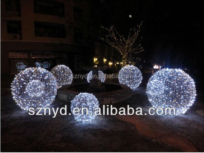 paraguas de moda bola del rbol de navidad blanca al aire libre de rboles de navidad