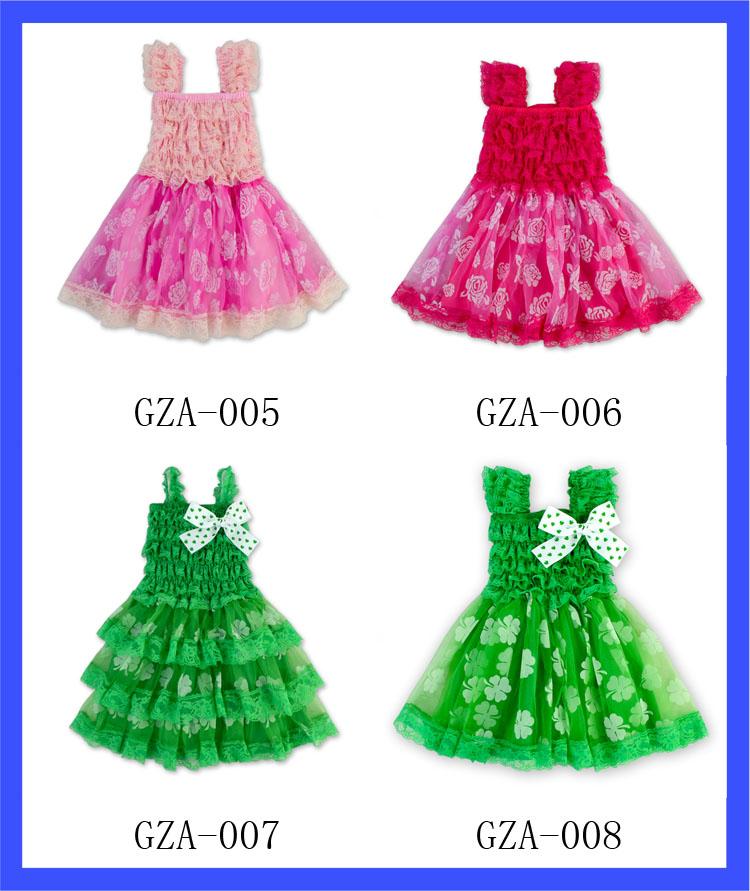 80f711f16cee Baby 4th of July Satin Dress Baby Girls One Piece Western Dance ...