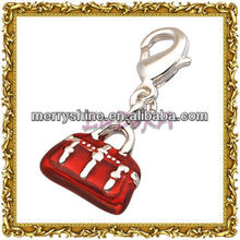 2013 Fashion Silver Hangbag Charms And Pendants-T346