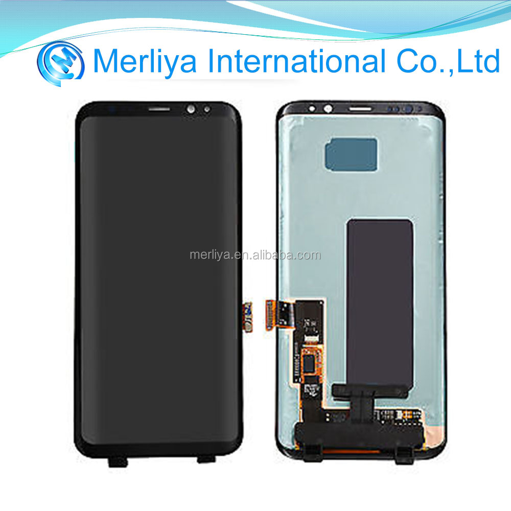 Original S8 LCD display touch screen assembly for Sam galaxy G950