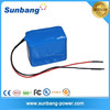 deep cycle rechargeable 7S3P 18650 24v 6ah lithium battery