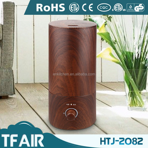 2017 NEW!! HTJ-2082 1.8L Capacity High Quality Wood Cool Mist Portable Fogger Ultrasonic Humidifier