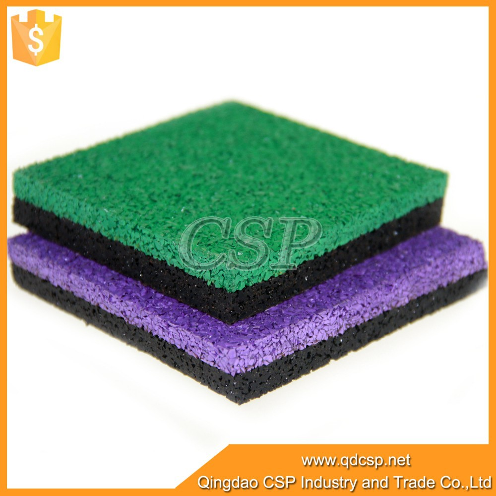 Heat reservation easy to clean outdoor rubber floor paint for playground
