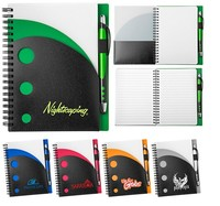 customized free sample note books printing