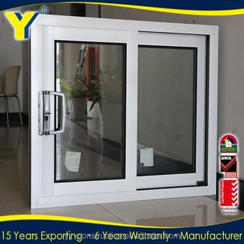 Aluminium Windows Double Glazing Sliding Window Stained