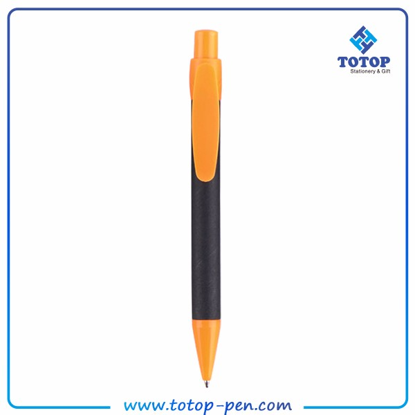 Customized logo custom color cheap Strict QC system Familiar with ODM factory Eco-friendly recycled paper mate pen in india
