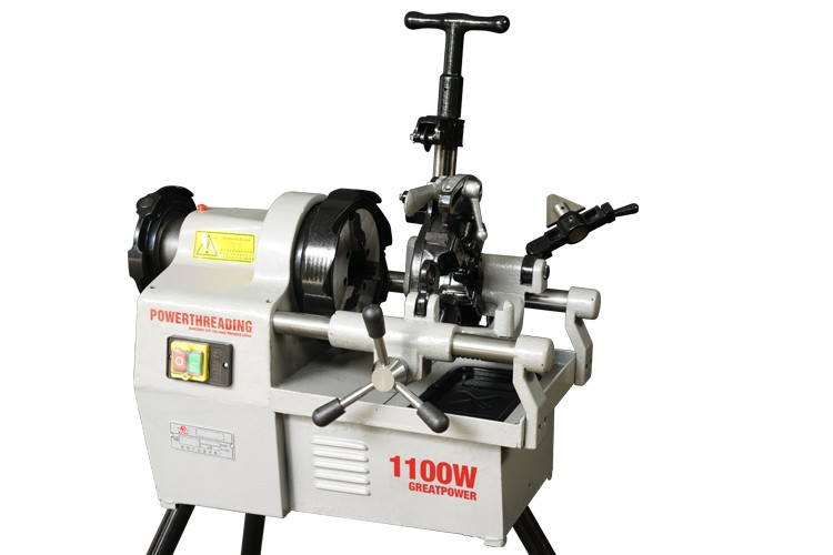 Cheap price 750W optional diehead electric pipe threading machine