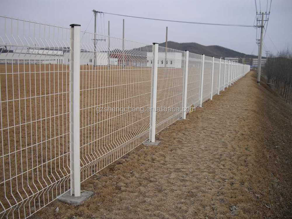 Pvc coated folding welded wire mesh fence cheap fencing