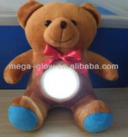 Wholesale Led Fluffy Flashing Toy Bear