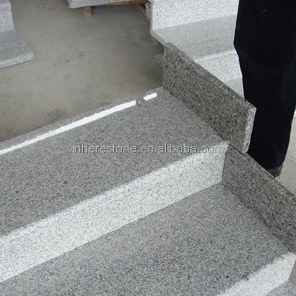Natural Stone Indoor Anti Slip Grey Granite Stair G603