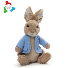 Custom stuffed animal toy long ear plush stuffed rabbit