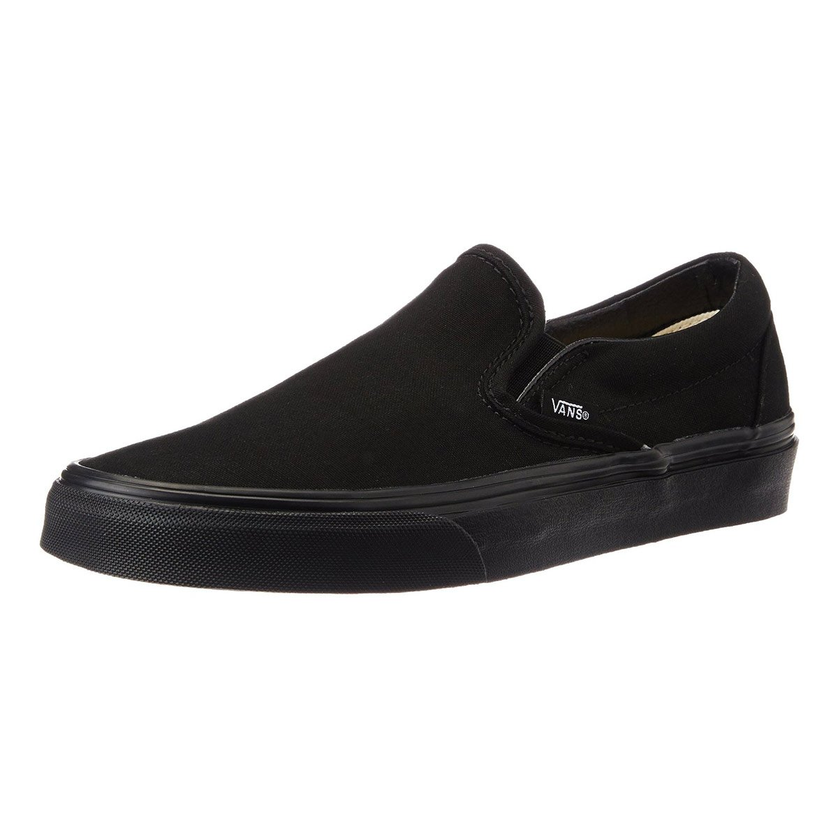 Get Quotations · Vans Unisex Classic Slip-On Black Black VN000EYEBKA 77171875b5be