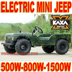 500w, 800w, 1500w Electric Mini Jeep