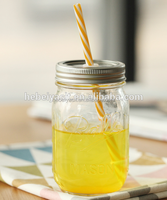 500ml 16oz glass mason jar drinking jar with lid wholesale