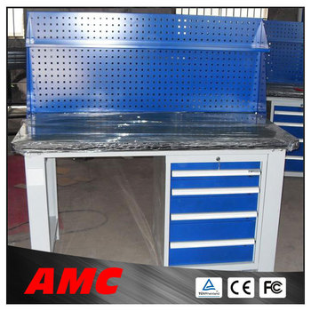 Metal Garage Workbench Steel Work Table With Drawers Buy