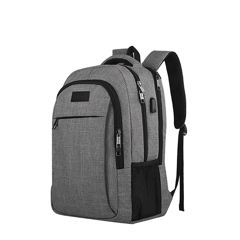 Stylish Business Usb Charging Laptop Anti Theft Backpack e86b3994cd52e