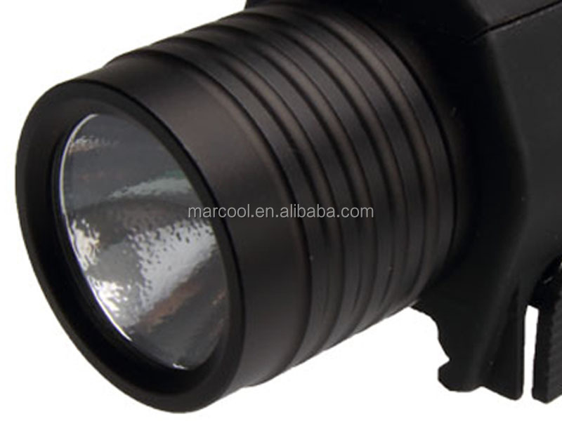 Tactical M6 LED Hunting Llight with Red Laser sight & lamp cup