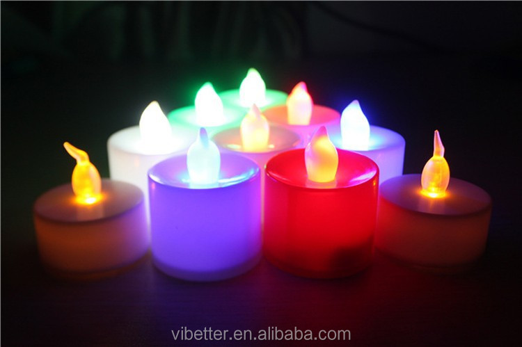 Led Tealight Battery Operated Mini Led Tea Light Led Candles With ...