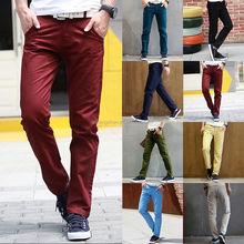 455a936289 OEM nuevos hombres slim fit pierna recta  span class keywords  strong