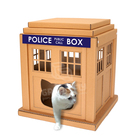 New Design Cardboard Paper Furniture Cat House Box,Corrugated Cardboard House for Cats