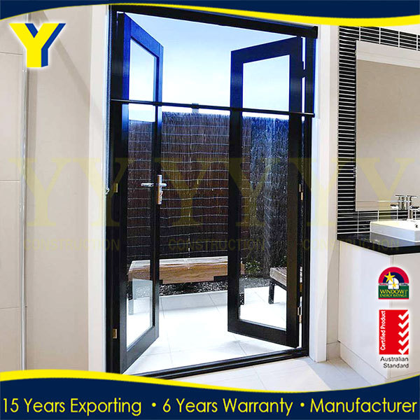 Glass Sliding Commercial Entrance Door /glass Partition Door / 24 ...