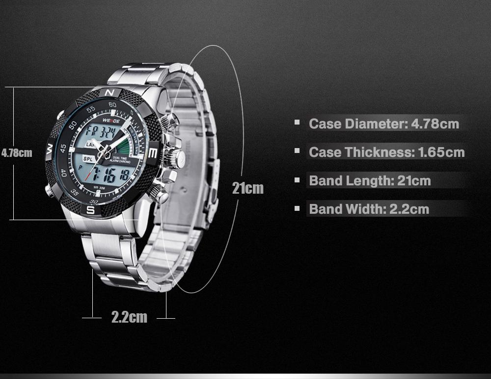 Weide Wholesale Brand Watch,Japan Movt Quartz Watch Stainless ...