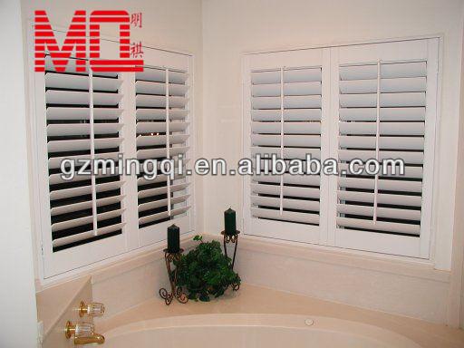 Aluminium shutter blinds windows aluminium interior security