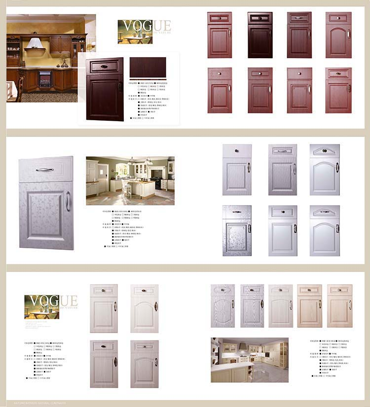 Kitchen Cabinets Quick Delivery factory offer fast delivery heat resistant anti scratch melamine