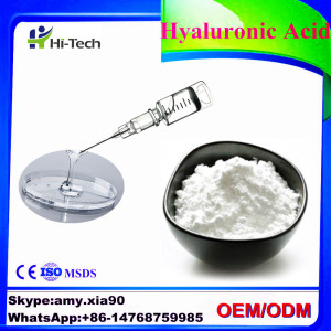 Hot Selling Medical HA Powder Sodium Hyaluronate Injection Grade Hyaluronic Acid