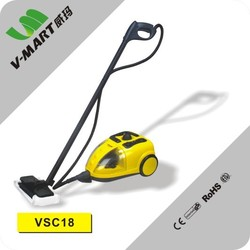 2018 Home Canister Type 1500W heavy duty multifunctional mobile Steam Cleaner machine with various 18 attachments