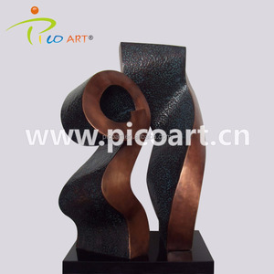 Abstract metal 3D art indoor decoration sculpture