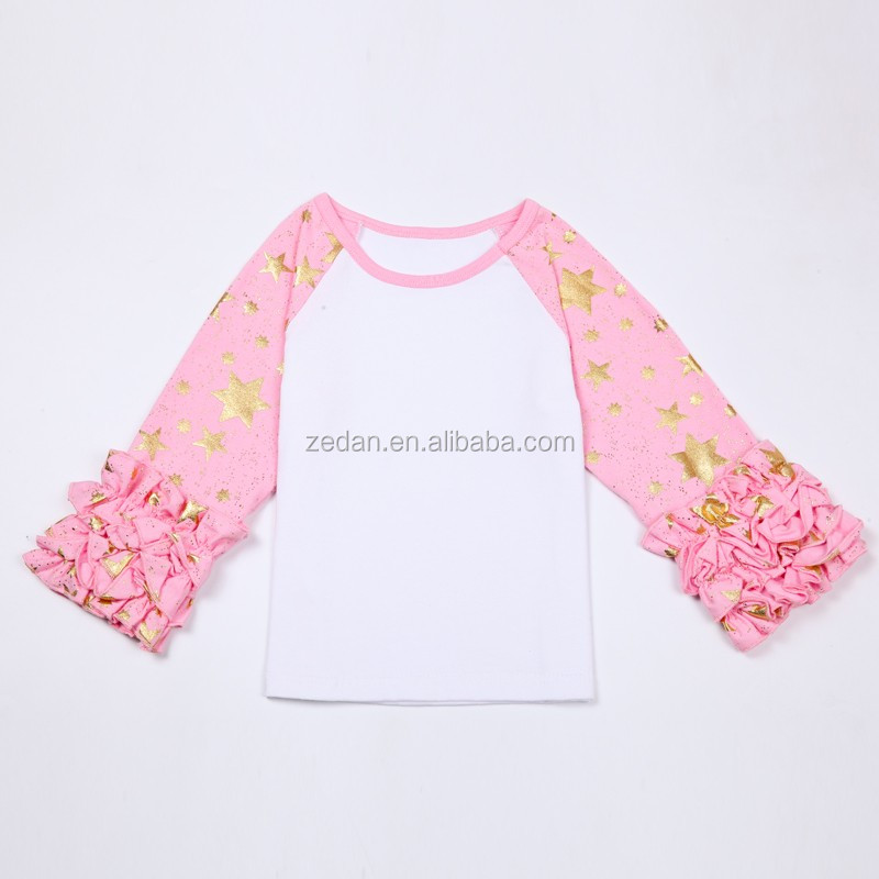 Stocks Children Garments Yiwu Girls Boutique T-Shirt Fall Factory Price Children's Garments Wholesale