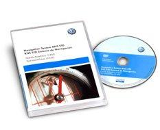 Volkswagen RNS 510 v.11M Map Update DVD 2016 (Conti)