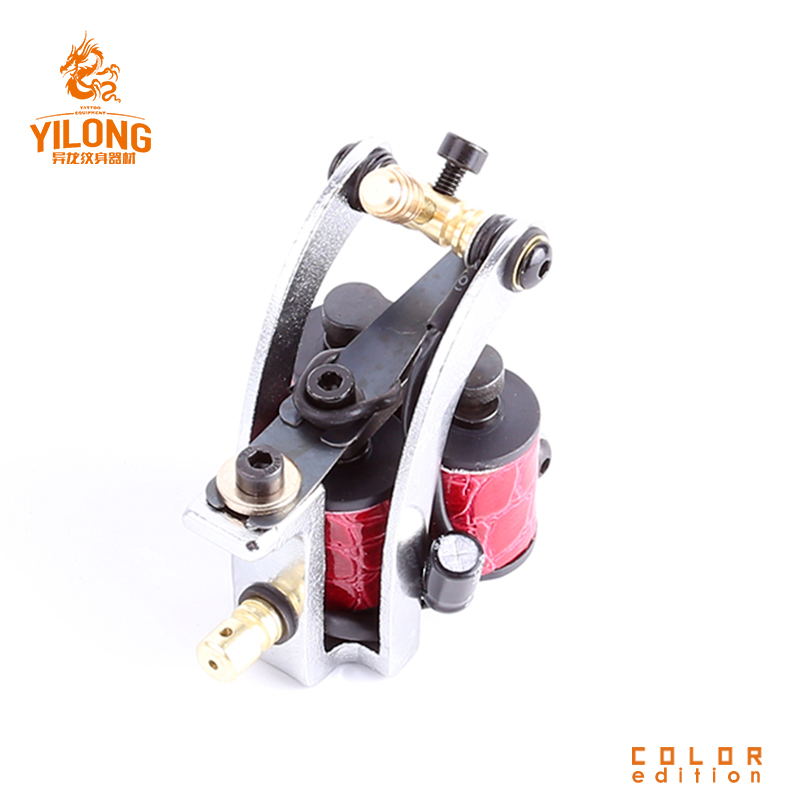 Triple coils tattoo machine shader Silver factory iron