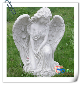Modern Outdoor Large Garden Decor Resin Ornament Angel Figurine