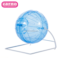 Carno 2017 new pet toys plastic hamster running ball 12cm exercise ball for sale