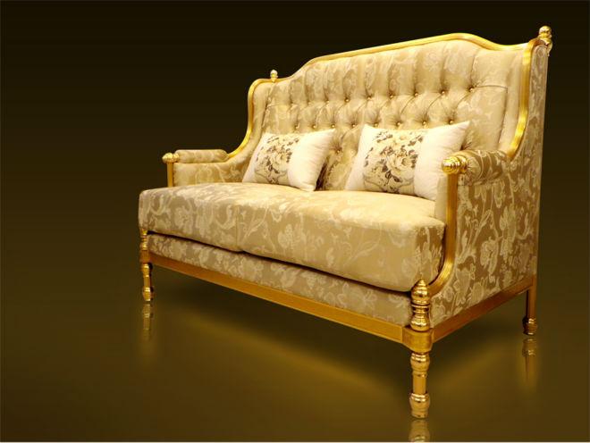 Classic Design Furniture Arabic Style Royal Golden Aluminium Frame Luxury  Elegant Living Room Home Sofa Malaysia   Buy Golden Furniture,Luxury  Sofa,Classic ...