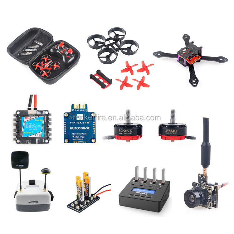 Super_S F4 Drone Flight Controller Board Built-in Betaflight OSD & 4In1 6A BLHeli_S ESC BS06D for FPV Drone Quadcopter