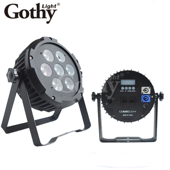 Gothylight Hot Selling American DJ Flat Par Tri 7X15 Watt LED Wash Light Fixture Fast Shipping
