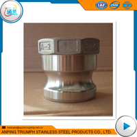 1/2-4 Inch Type A Stainless Steel quick release coupling Threaded Ends 1000wog