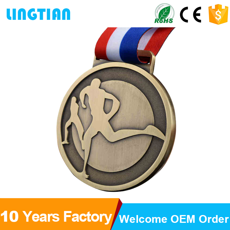Factory Wholesale Custom Logo Award Sports Medallas