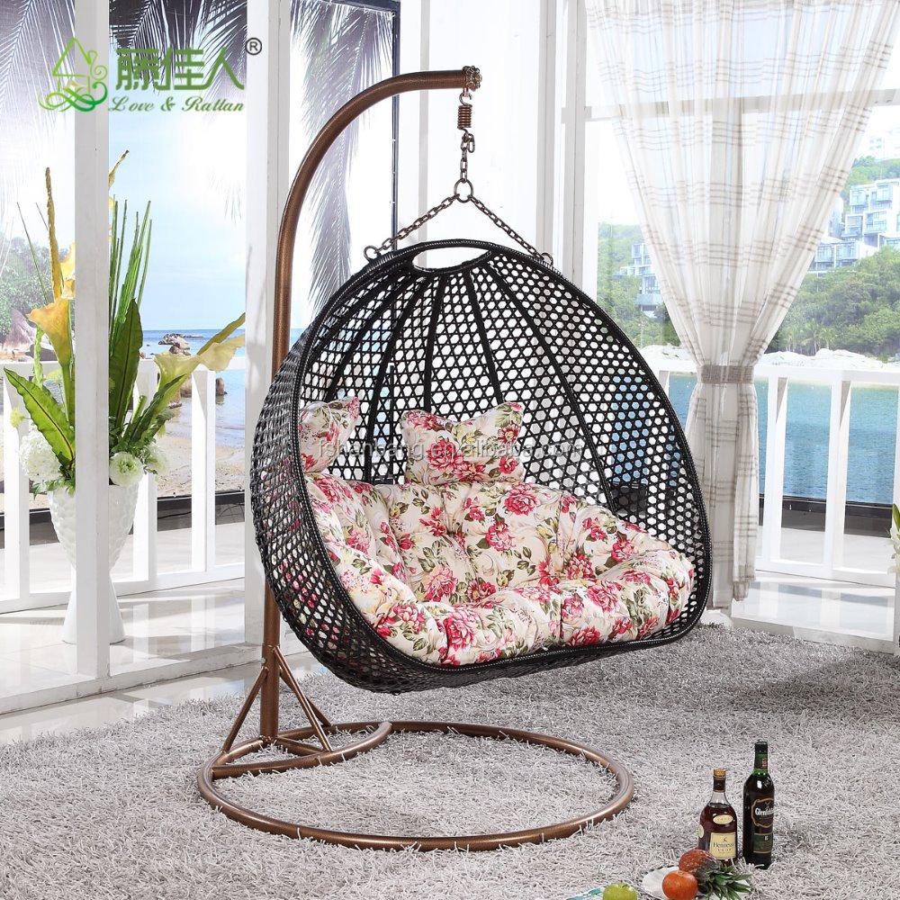 Indoor Outdoor Patio Garden Living Room Rattan Wicker Bird